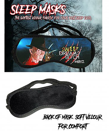 A Nightmare On Elm Street Sleep Mask