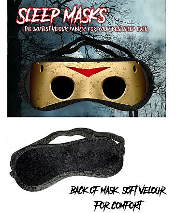 Friday the 13th Sleep Mask