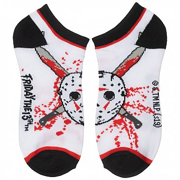 Friday the 13th Ankle Socks