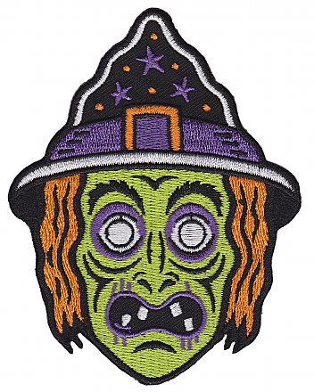 Witch Mask Patch