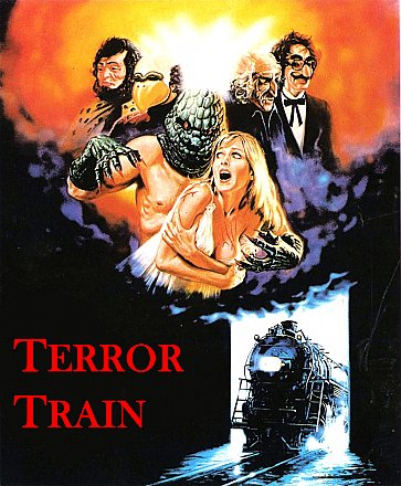 Terror Train Sticker