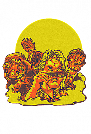 They Live Halloween Wall Decor Series 1