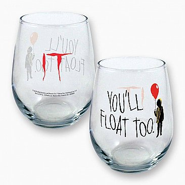 IT You'll Float Too Curved Table Glass