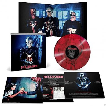 Hellraiser 30th Anniversary Edition Original Soundtrack LP