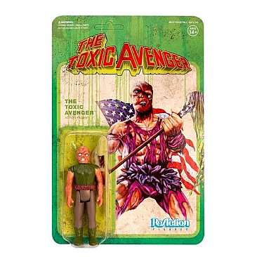 The Toxic Avenger ReAction Figure Authentic Movie Variant