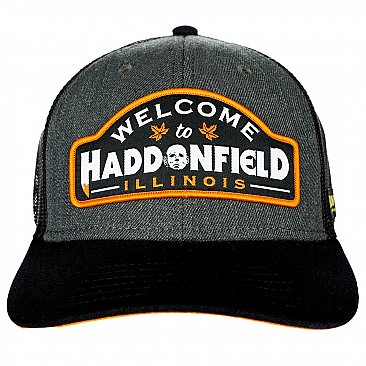 Halloween Haddonfield Patch Trucker Cap