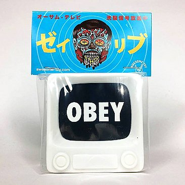 Brainwash TV Series 1 White (OBEY Screen)