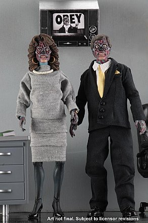 "They Live 8"" Clothed Action Figures 2 Pack"