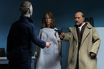 "Halloween 2 Doctor Loomis & Laurie Strode 2-Pack 8"" Scale Clothed Figure"