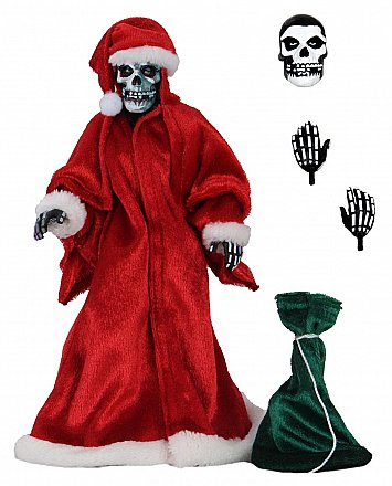 "The Misfits Holiday Fiend 8"" Clothed Action Figure"