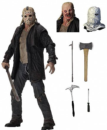 "Friday the 13th Ultimate Jason (2009) 7"" Scale Action Figure"
