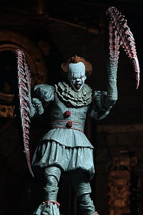 "IT Ultimate ""Dancing Clown"" Pennywise 7"" Action Figure"