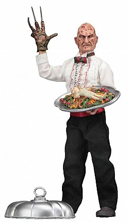 "A Nightmare on Elm Street 8"" Clothed Figure Part 5 Chef Freddy"