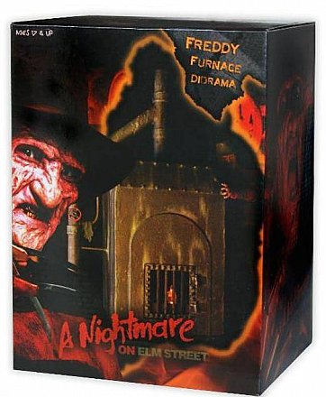 A Nightmare on Elm Street Freddy's Furnace Diorama