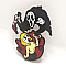 Gosh Golly Ghostface Color Enamel Pin
